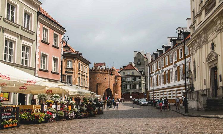 ورشو از زیباترین شهرهای لهستان