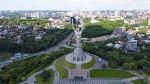 شهر کی یف پایتخت اروپائی کشور اوکراین
