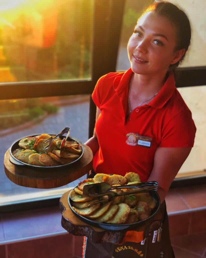 درانیکی غذای ملی بلاروس است